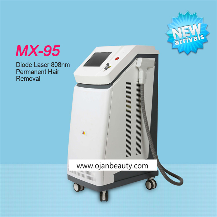 Vertical 808nm Diode Laser Hair Removal Machine With Factory Sale